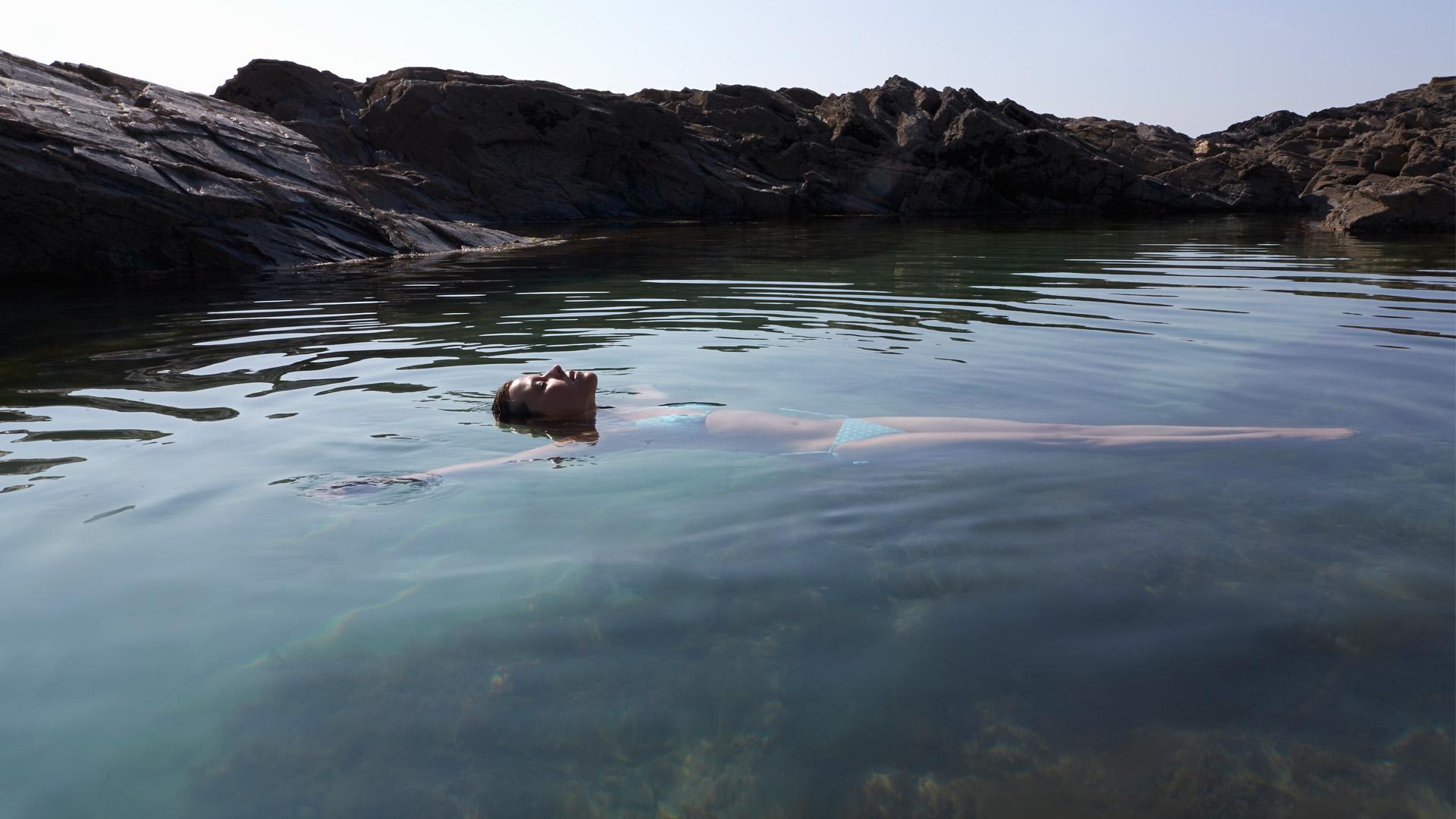 Open swimmer